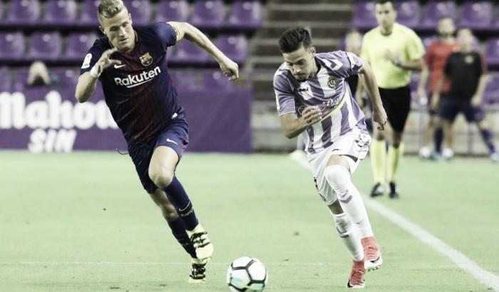 Jugadores que pasaron por el FC Barcelona y el Real Valladolid