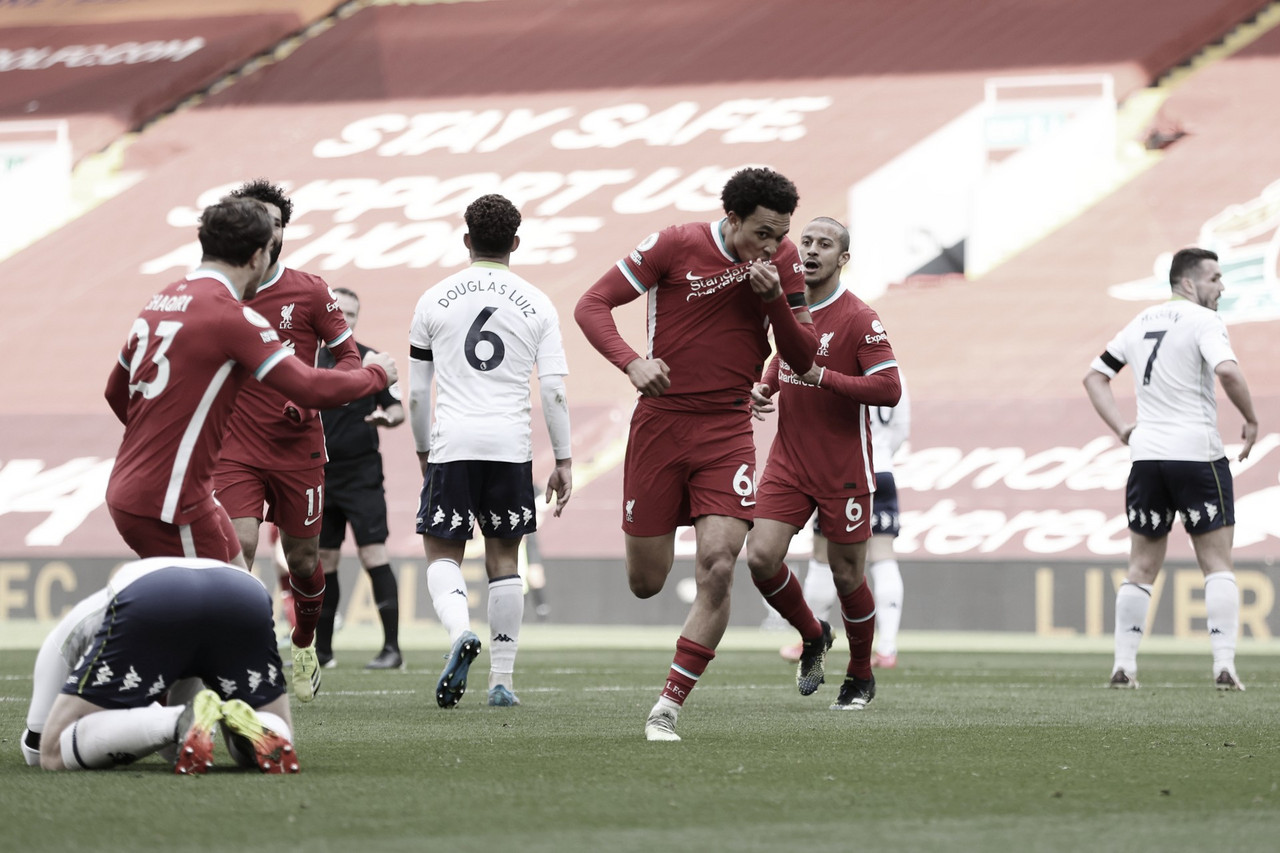 La perseverancia vale por un desempate en Anfield