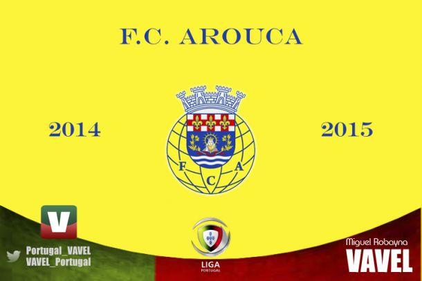 FC Arouca 2014/15: salvación, pero con menos apuros