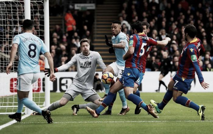 Crystal Palace frenó al Manchester City
