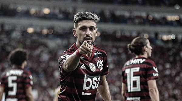 Arrascaeta: recorde de assistências,13 gols e maior pintura do Brasileirão 2019