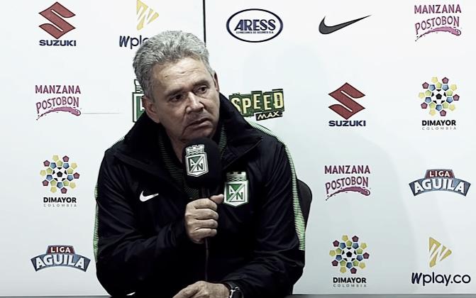 """Hernán Darío Herrera: """"Con el resultado en contra, hicimos varios cambios pero no nos alcanzó"""""""