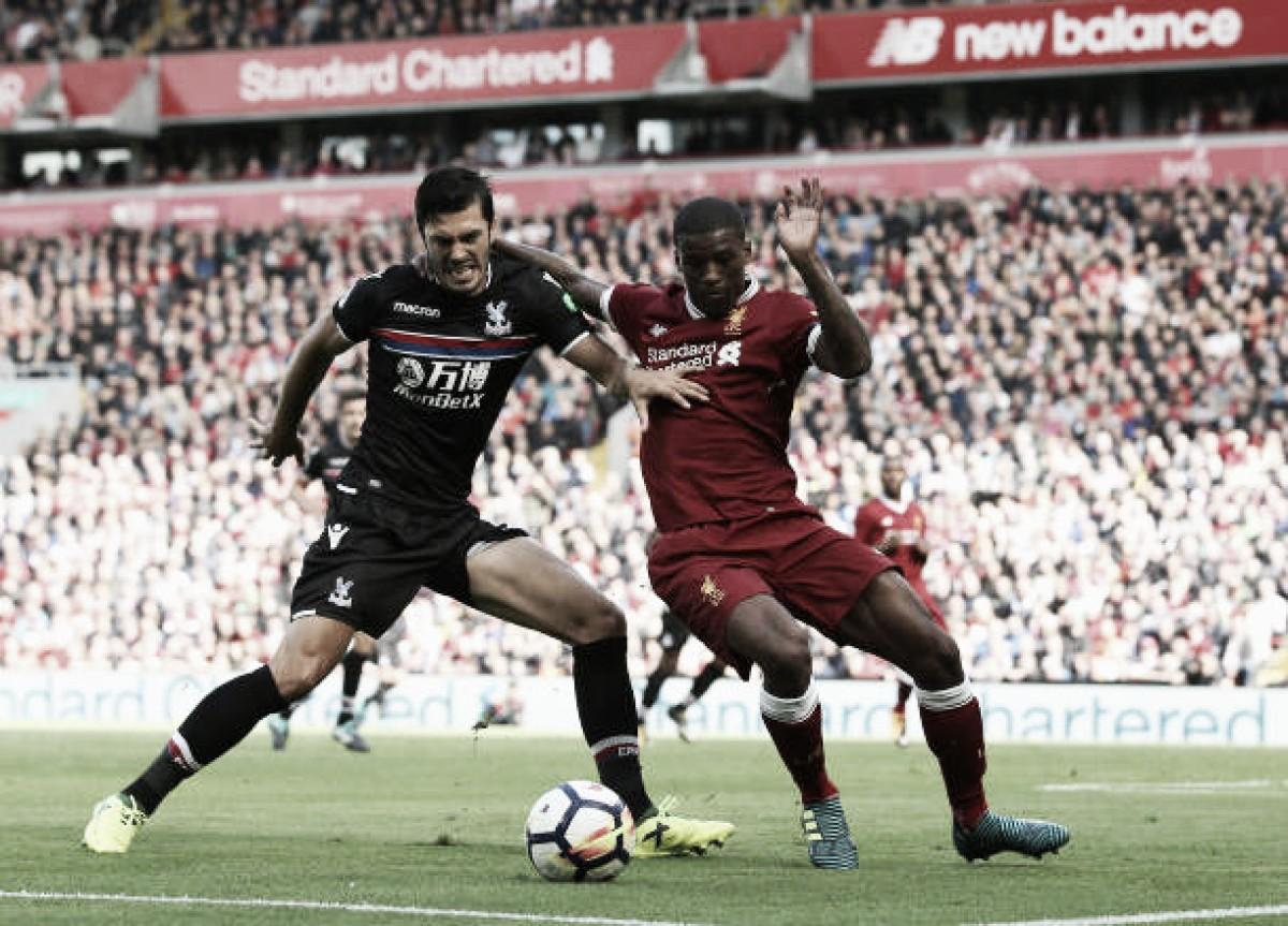 Artilheiro do Inglês, egípcio Salah marca gol da vitória do Liverpool