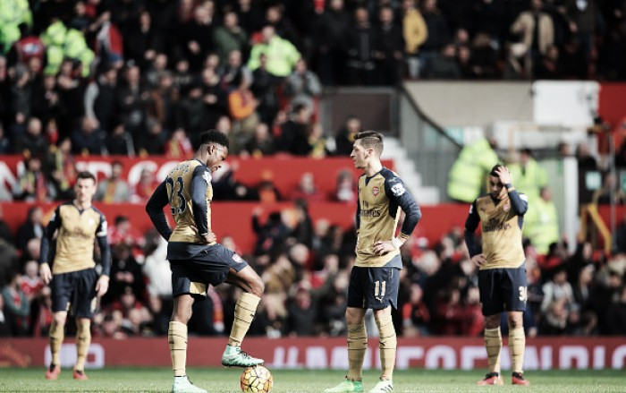 Manchester United 3-2 Arsenal: Gunners disappoint in important away clash at Old Trafford