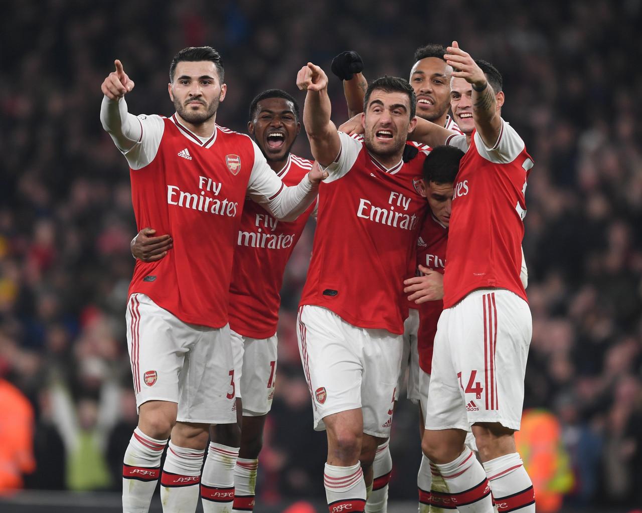 Prima vittoria per Arteta con l'Arsenal: United battuto 2-0