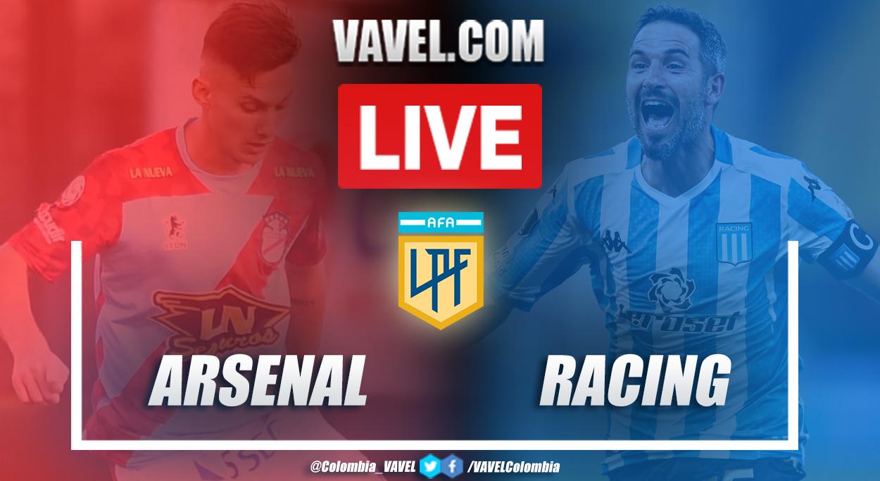 Resumen de Arsenal vs Racing (1-0) por la Copa Diego Armando Maradona