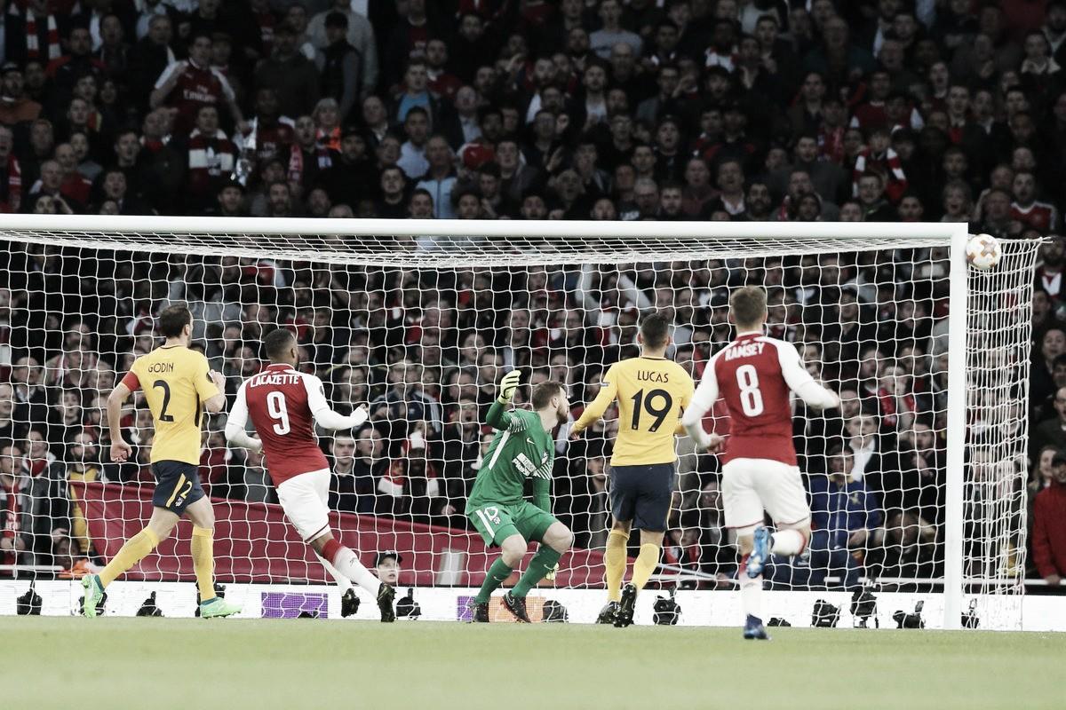 Atlético de Madrid vence o Arsenal pela semifinal da Uefa Europa League 2017/18 (1-0)