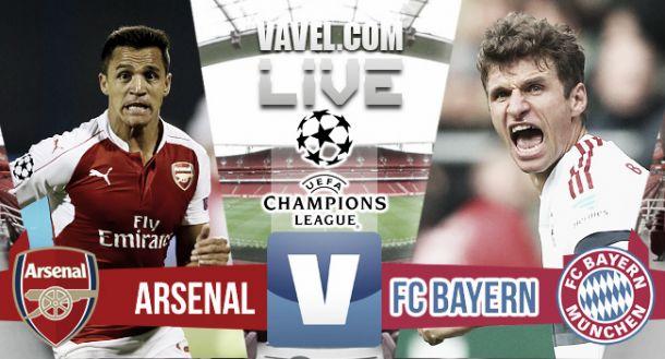 Risultato Arsenal - Bayern Monaco di Champions League 2015/16 (2-0): Giroud e Ozil illuminano l'Emirates