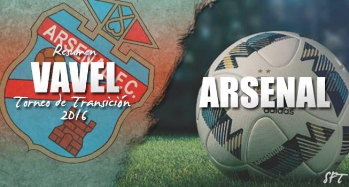 Resumen VAVEL Torneo de Transición 2016: Arsenal de Sarandí