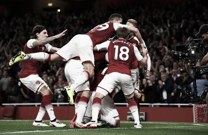 Emocionante! Em jogo de duas viradas, Arsenal bate Leicester na abertura da Premier League