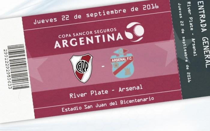 Previa: Arsenal y River se miden por Copa Argentina