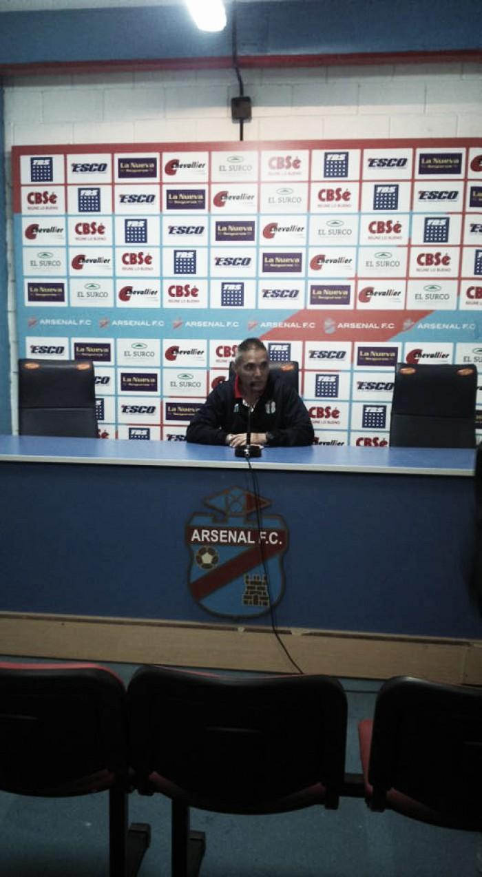 """Sergio Rondina: """"El esfuerzo fue muy grande"""""""