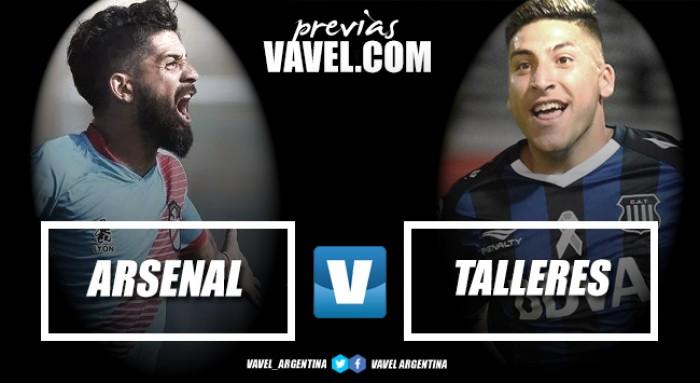 Previa Arsenal - Talleres: la visita busca levantar la cabeza en condición de visitante