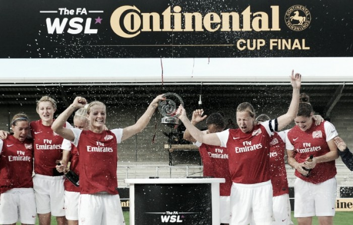 FA Continental Tyres Cup semi-final draw pits City and Arsenal together
