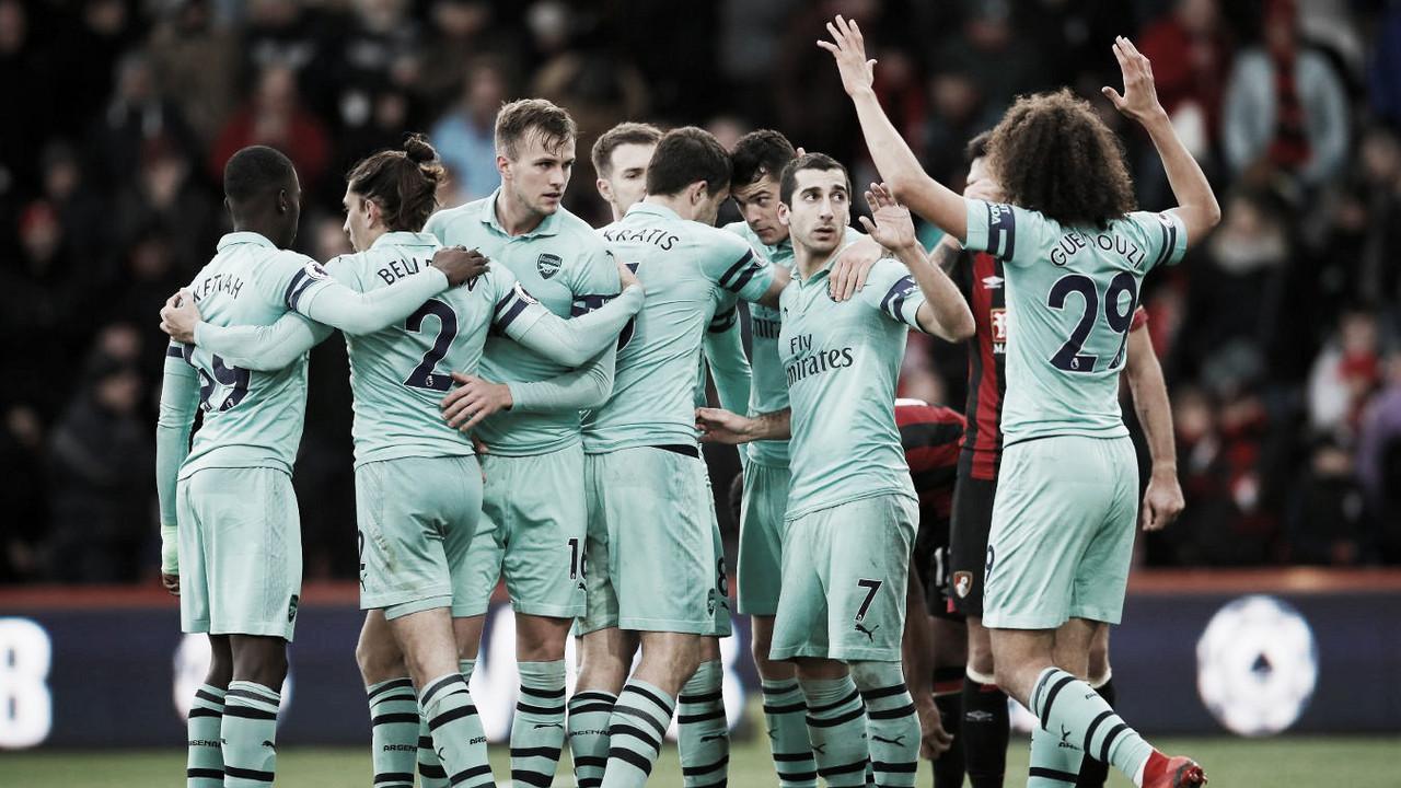 Arsenal se llevó tres puntos importantes de Bournemouth