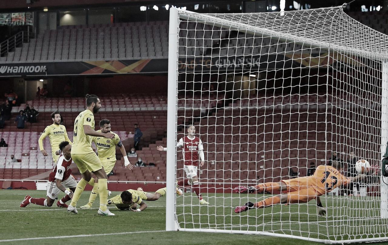 Villarreal empata sem gols e elimina Arsenal da Europa League