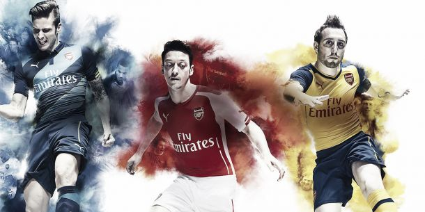 Arsenal apresenta uniformes para a temporada 2014/15
