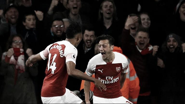 Arsenal sigue arrasando y se mete en la lucha por el título