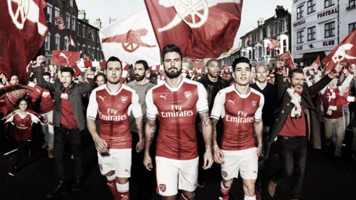 Arsenal revela imagens do uniforme para próxima temporada