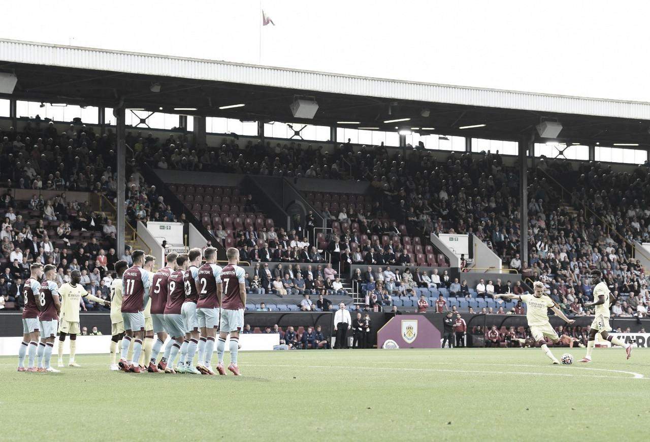 Odegaard marca e Arsenal vence Burnley pela Premier League