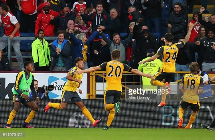 Burnley 0-1 Arsenal: Late drama as Wenger scrapes an anniversary win