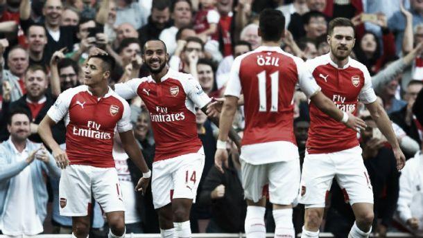 Premier League: Arsenal derruba Manchester United com 3 tiros fulminantes