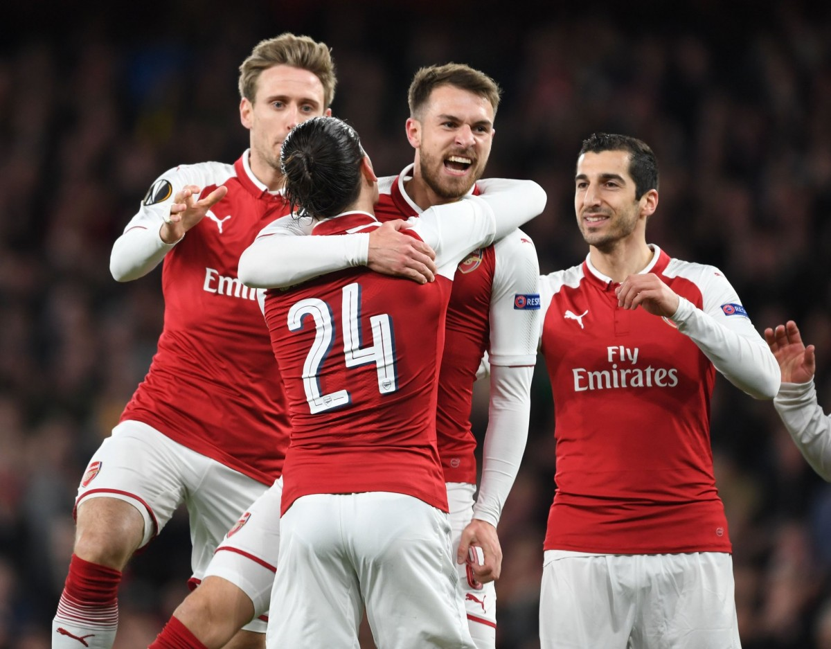 Europa League, all'Arsenal basta un tempo