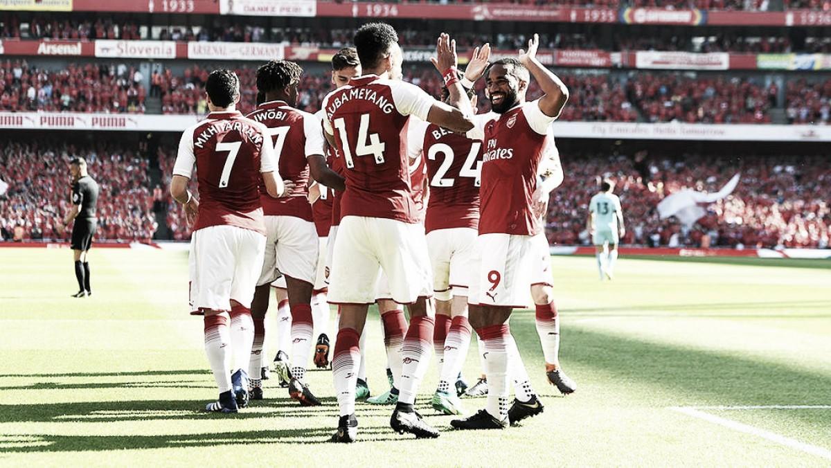 ¿Cómo es el calendario de la Premier League 2018/2019 para el Arsenal?