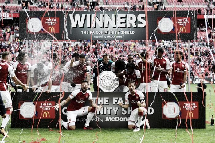 Arsenal soma nona vitória no novo Wembley e fatura Supercopa da Inglaterra sobre Chelsea