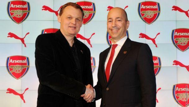 Arsenal e Puma si uniscono: oltre 180 mln di euro in 5 anni