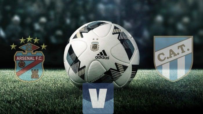 Resultado Arsenal de Sarandí vs Atlético Tucumán por el Torneo de Primera División (1-3)