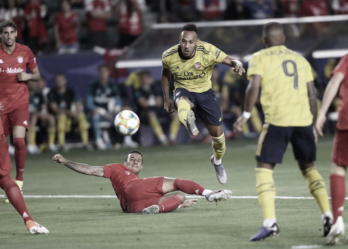 Nketiah le da el triunfo al Arsenal frente al Bayern