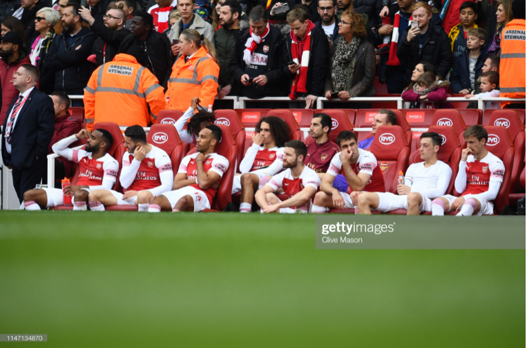 Opinion: Arsenal's shambolic Sunday was a measure of how far the club hasn't come