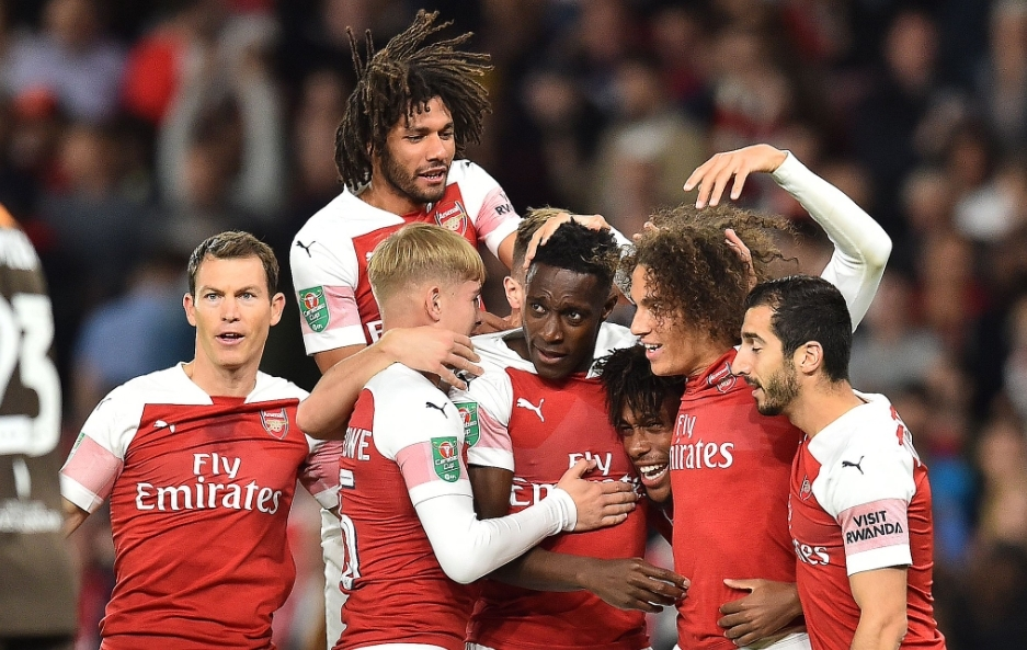 Arsenal 3-1 Brentford: Gunners withstand second half pressure to progress in Carabao Cup