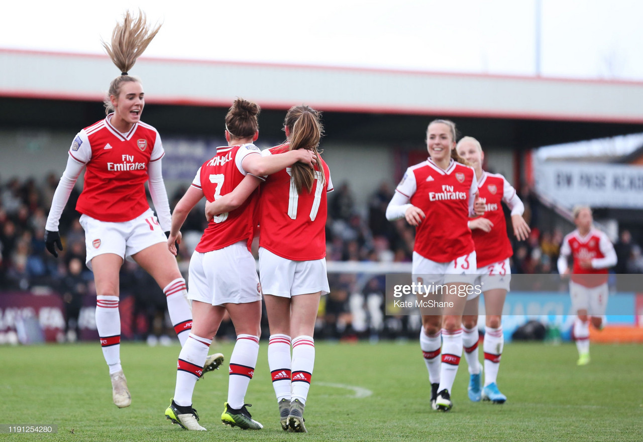 Women's Super League: Arsenal 11-1 Bristol City