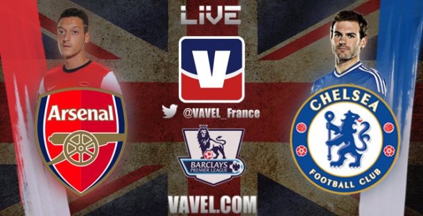Live Arsenal - Chelsea, le match en direct