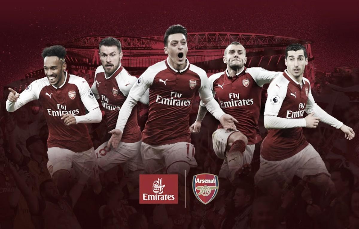 Arsenal renova patrocínio master com Emirates por mais cinco temporadas