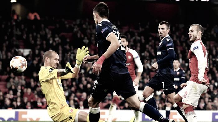Empate sin goles en el Emirates