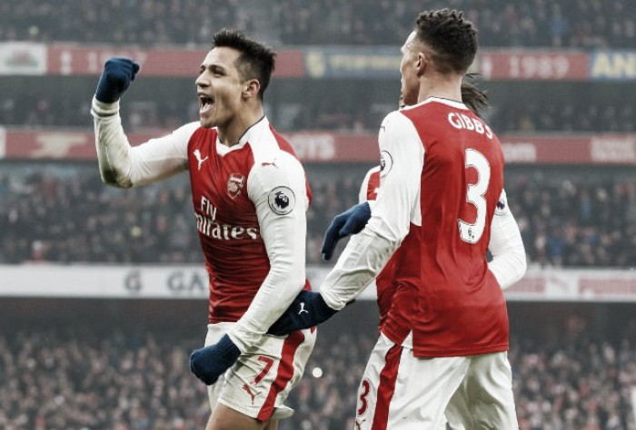 Premier League - Doppio Sanchez, l'Arsenal rialza la testa: 2-0 all'Hull City