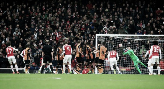 El Arsenal se encalla en copa