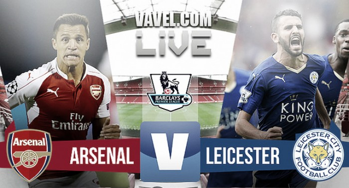 En vivo: Arsenal vs Leicester City online en Premier League 2016