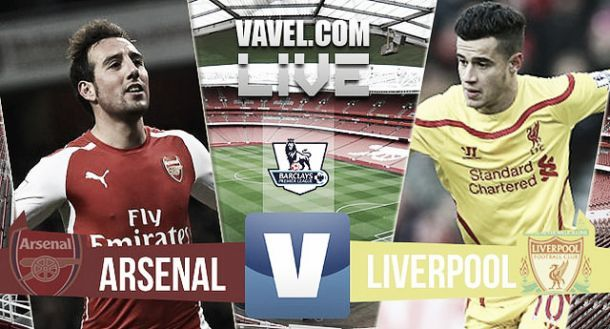 Suivez en direct live le choc: Arsenal - Liverpool !