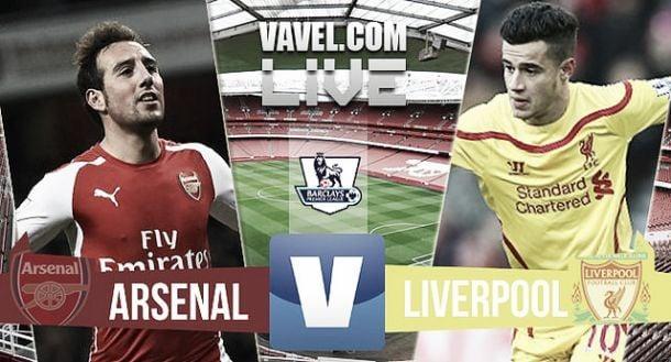 Suivez en direct live le choc: Arsenal - Liverpool !