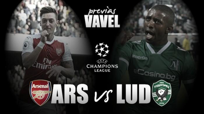 Arsenal - Ludogorets: a seguir con los buenos resultados