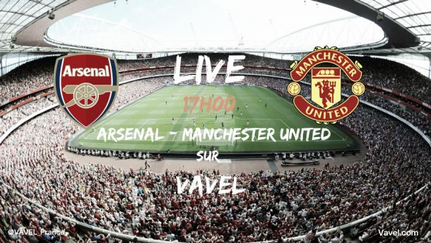 Revivez Arsenal vs Manchester United en direct live, 8e journée de Premier League 2015 (3-0)