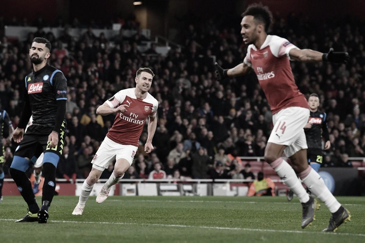 Sólida victoria del Arsenal ante el Napoli