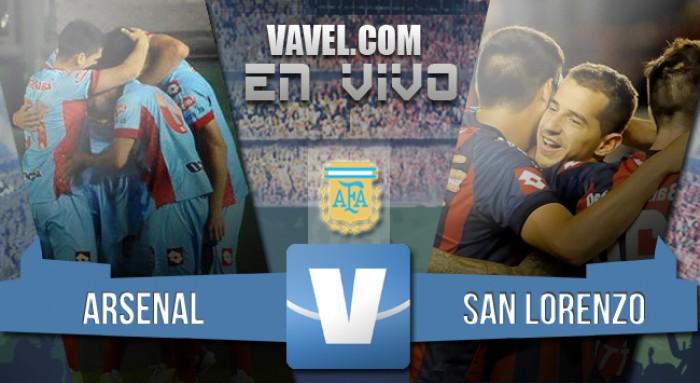 Resultado final: San Lorenzo 0-2 Arsenal por el Torneo de Transición 2016