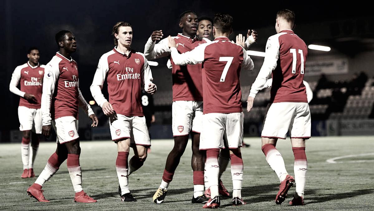 Arsenal Sub-23, campeón de la Premier League 2