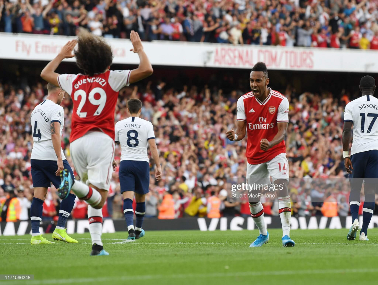 Arsenal 2-2 Tottenham Hotspur: Gunners comeback to earn a point in pulsating clash