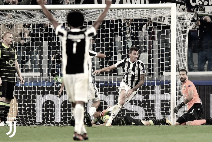 Juventus gana de último minuto ante Sporting CP